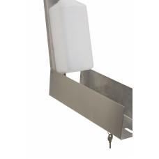 Дозатор локтевой для дезинфицирующих средств, ST885S, 1000 мл