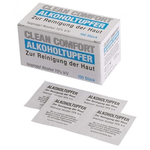 Спиртовые салфетки CLEAN COMFORT Ampri 09290