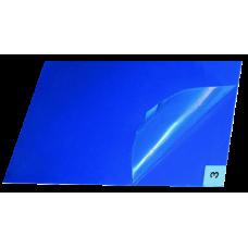 Липкий багатошаровий антимікробний килимок 40x60 см, синій