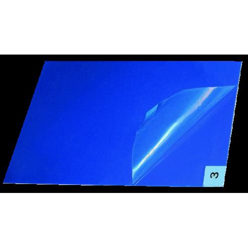 Липкий многослойный антимикробный коврик 60x90см, синий