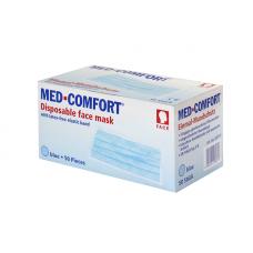 Маска защитная голубая МED COMFORT 02201-B