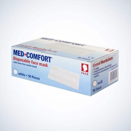 Маска защитная голубая Ampri МED COMFORT 02300-B