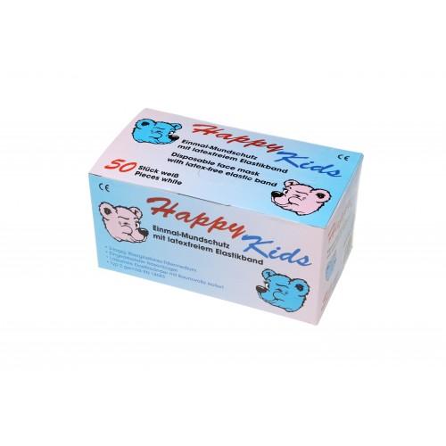 Маска защитная для стоматологов Ampri HAPPY KIDS 02501