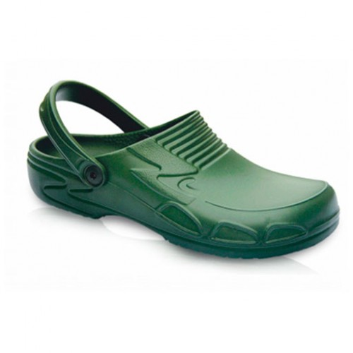 Медицинские сабо зеленые LEMIGO HERO 890-G, 36 р