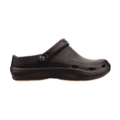 Кроксы черные FitClog BASIC 001 Black, Lemigo, 39 р