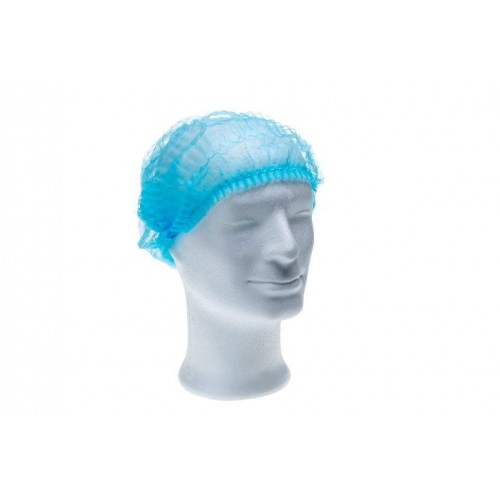 Шапочка нетканая синяя MED COMFORT 04020-B-M (100 шт.)