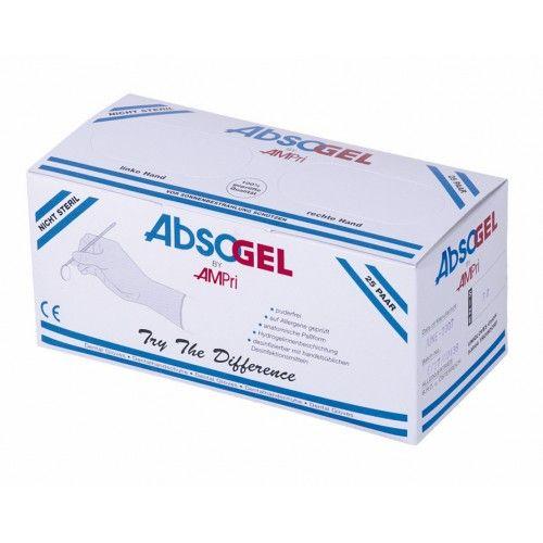 Перчатки латексные Ampri ABSOGEL 01040-65