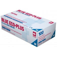 Перчатки нитриловые без пудры Ampri BLUE ECO PLUS 01198-XL