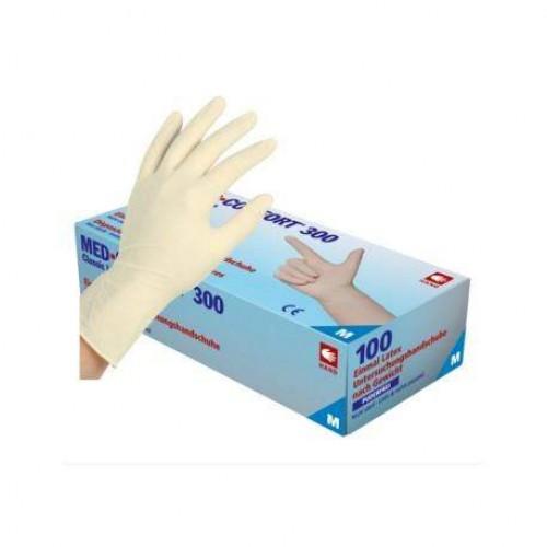 Перчатки латексные без пудры Ampri MED COMFORT 300 01230-L