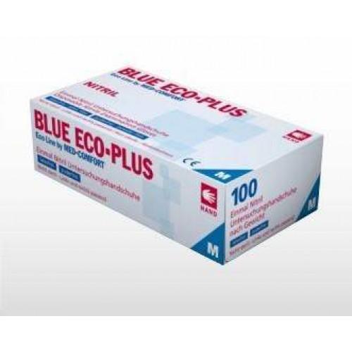 Виниловые перчатки с напылением Ampri ECO PLUS 01270-XL