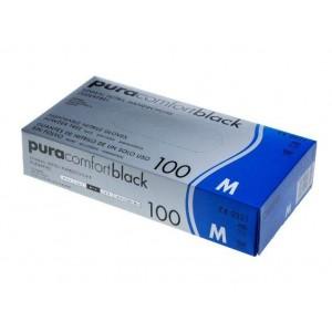 Перчатки нитриловые Ampri Pura Comfort Black 118-038-XL