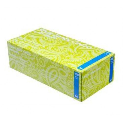 Перчатки латексные без пудры Ampri STYLE LATEX CEDRO 14-008-L