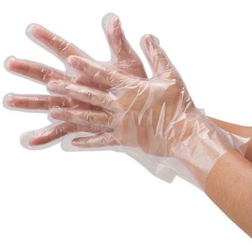 Перчатки полиэтиленовые AMPRI MED COMFORT 01080-L, длина 30 см