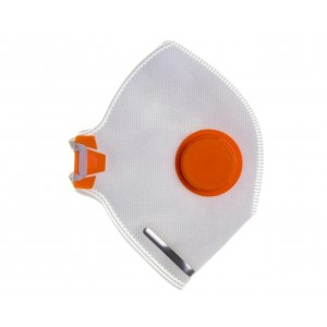Напівмаска респіратор Спектр 2К FFP2D (з клапаном видиху)