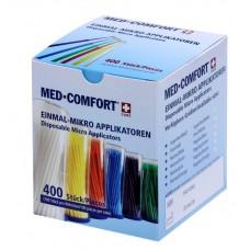 Микроаппликаторы стоматологические синие стандарт MED COMFORT Ampri 09111-B-L
