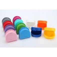 Контейнер для зубных протезов, взрослый темно-синий  MED COMFORT 09149-DB
