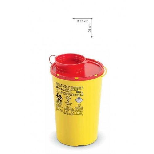 Контейнер для утилизации медицинских отходов Ampri L-09301