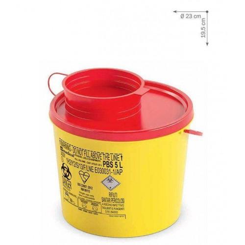 Контейнер для утилизации медицинских отходов Ampri L-09304
