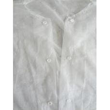 Одноразовый халат на кнопках, полипропилен, 21060, Украина