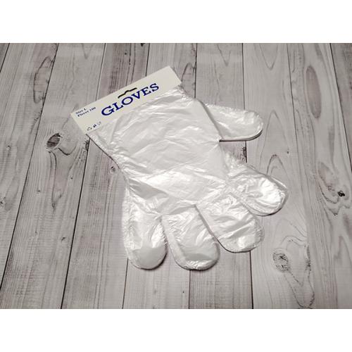 Перчатки полиэтиленовые фасовочные, 100 шт в упаковке