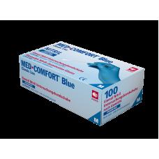 Перчатки нитриловые без пудры Med Comfort blue 01192-XXL