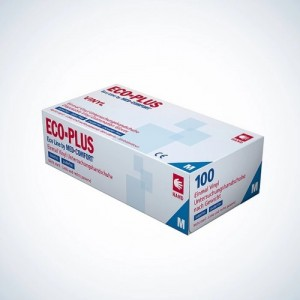Вінілові рукавички без напилення Ampri ECO PLUS 01260-L